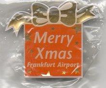 Pin MERRY CHRISTMAS - Frankfurt Airport (FRAPORT) - Luftfahrt