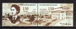 Romania 2002 The 150th Anniversary Of The Birth Of Luca Garagiala.MNH