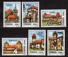 Romania  2002 Churches Built By Germans - Transylvania.MNH
