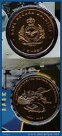 Malaysia 2008 1 Ringgit Nordic Gold Coin BU 50th Anniversary Of The Royal Malaysian Air Force - Malaysia