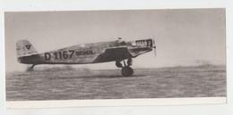 PHOTO COPYRIGHT 23X10 TELEVISION ALLEMANDE / TRAVERSEE ATLANTIQUE EST OUEST - LE BREMEN DECOLLE POUR SON 1er VOL - Aviation