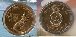 Malaysia 2009 1 Ringgit Nordic Gold Coin BU 75th Anniversary Of The Royal Malaysian Navy - Malaysia