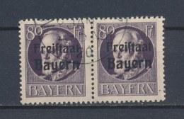Beieren/Bavaria/Baviere/Bayern 1919 2x Mi: 164 A  Yt: 164 (Gebr/used/obl/o)(2446) - Bavière
