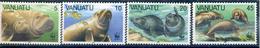 SERIE NEUVE DE VANUATU  1988 - LE DUGONG (EMBLEME DU W.W.F.) N° Y&T 797 A 800