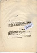 VP10.134 - 1841 - LA FERTE SOUS JOUARRE - Faire Part De Décès De Mme A. E. CHIBOUST Vve De Mr COURTOIS - Décès