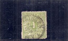 Allemagne - WURTTENBERG -  N 36--- Vert Jaune  Côte 2.25€ - Wuerttemberg