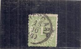 Allemagne - WURTTENBERG -  N 36--- Vert   Côte 2.25€ - Wuerttemberg
