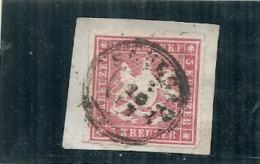 Allemagne - WURTTENBERG -  N 31  --- 3k Rose Sur Fragment  Côte 4€ - Wuerttemberg