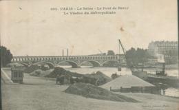 75 - Paris - La Seine - Le Pont De Bercy - Le Viaduc Du Métropolitain - Autres