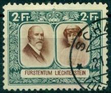 Fürstenpaar 1930: Zu 97A Mi 107A Mit O Von SCHAAN (Zu CHF 150.00 Mi € 110.00)