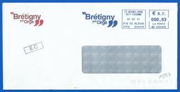 Mairie  (1597) BRETIGNY SUR ORGE 91 - 02 02 2012 - Marcophilie (Lettres)