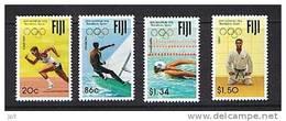 FIJI Mi. 660/3** JO Barcelone - Course, Natation,voile, Judo MNH ** - Estate 1992: Barcellona