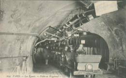 75 - Paris - Les Egouts - Avant Visite En Wagonnet - Francia