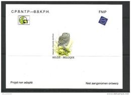 """NIET AANGENOMEN ONTWERP 35 """" STEENUIL"""" - Belgique"""
