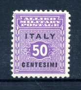 1943 Occup. Anglo-Amer. SICILIA N.4 *