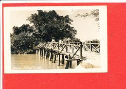 HANOI  Cpa Animée Le Pont Thé Huc - Vietnam