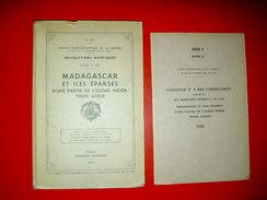 Madagascar Iles Océan Indien La Réunion Terre Adélie .Instructions Nautiques.Service Hydrographique Marine 1959 N°471 L - Geographie