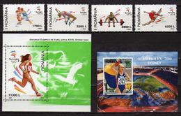 "Romania 2000 Olympic Games - Sydney, And International Stamp Exhibition ""OLYMPHILEX 2000"" - Sydney, Australia.MNH - 1948-.... Republics"