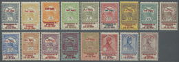 Ungarn: 1914, War Relief, Complete Set Of 17 Stamps, Normal Perforation, Unmounted Mint (35f. Toning Spots).
