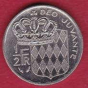 Monaco - Rainier III - 50 Centimes - 1982 - 1960-2001 New Francs