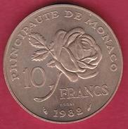 Monaco - ESSAI - Princesse Grace - 10 Francs - 1982 - Monaco