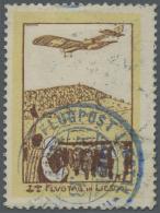 Schweiz - Halbamtliche Flugmarken: 1913, 50 C. Flugpost Liestal-Rheinfelden Sauber Gestempelt, Sign. Liniger. Auflage Nu