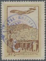 Schweiz - Halbamtliche Flugmarken: 1913, (50 C.) Flugpost Liestal - Rheinfelden Gebraucht Mit Entsprechendem Flugpost-So