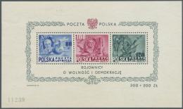 Polen: 1948, Blockausgabe '160 Jahre Verfassung Der USA' Postfrisch, Mi. € 450,--