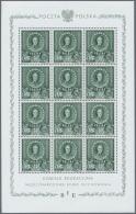 Polen: 1946, 3 Zt - 11 Zt Polnische Erziehungs-Kommission Als Postfrischer Kleinbogensatz.