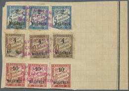 Französische Post In Ägypten - Alexandria - Portomarken: 1922, UPU-SPECIMEN, Aus Dem Archiv Der Mauretanischen