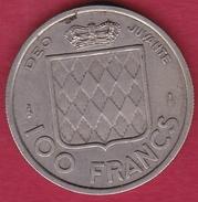 Monaco - Rainier III - 100 Francs - 1956 - Monaco