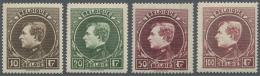 Belgien: 1929, Freimarken: König Albert I., Pariser Druck, Postfrisch (C.O.B. € 790,-).