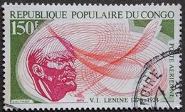 CONGO PA Y&T 193 OBLITERATION POINTE NOIRE . LENINE 150F RECTO VERSO - Congo - Brazzaville
