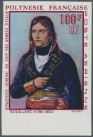 Thematik: Napoleon: 1969, FRANZÖSISCH-POLYNESIEN: 200. Geburtstag Von Napoleon I. UNGEZÄHNT Vom Unteren Bogenr