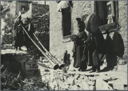 """Thematik: Bergsteigen / Mountaineering: 1960/1968. Lot Von 4 Versch. Foto-Ak """"Dhaulagiri 8222 M"""", """"Pumo RI 7145 M"""", """"Mou"""