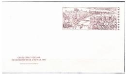 CECOSLOVACCHIA 1967, Busta Postale 60h Veduta Di Praga  Nuova**