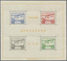 Japan: 1934, Communications Exhibition S/s, Unused Mounted Mint (Michel Cat. 2000.-)