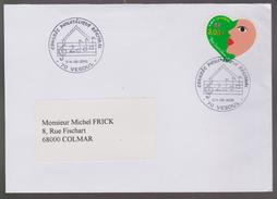 MB 3665) Frankreich SSt VESOUL 2000: Noten Schreiben Die Zahl 2000 (Millenium) - Musique