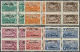 Albanien: 1946, Verfassunggebende Nationalversammlung Als Postfrischer 4-er Block-Satz - Albania