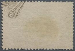 "Vereinigte Staaten Von Amerika: 1893, 10c. Columbus Showing UNIQUE PRINTING ERROR ""partial Printing Of Frame Design On R - United States"