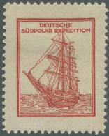 "Thematik: Antarktis / Antarctic: 1913, ""GERMAN SOUTH POLAR EXPEDITION 1911-1912, The Expedition Visited South Georgia An - Polar Philately"