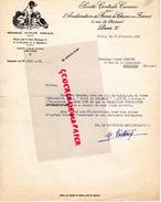 75- PARIS-  SOCIETE CENTRALE CANINE AMELIORATION RACES CHIENS - CHIEN DOG- 3 RUE CHOISEUL- HENRI PREVOST MONTLUCON- 1950 - Historical Documents