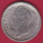 Monaco - Honoré V - Un Décime 1838 MC - Fausse Pour Servir - Rare - 1819-1922 Honoré V, Charles III, Albert I