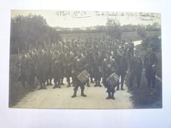 CHATELAILLON  :  Carte Photo Du  123è  Rgt D'Infanterie  -  TIRS De Combat De 1910   XXXX - France