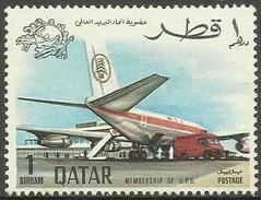 Qatar - 1970 UPU Admission 1d MH    Sc  196 - Qatar