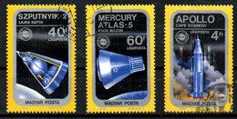 HONGRIE. 3 PA Oblitérés De 1975. Mission Apollo-Soyouz.