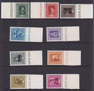 Liechtenstein 1949 Paintings 9v (+margin) ** Mnh (35684)