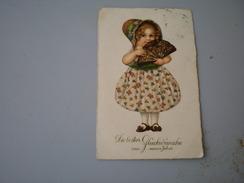New Year, Die Besten Gluckwunsche Zum Neuen Jahre, Vintage Child - Anno Nuovo