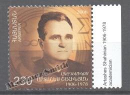 Armenia - Armenie 2007 Yvert 522, Personality, Artashes Shahinian - MNH - Armenia