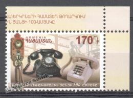 Armenia - Armenie 2013 Yvert 750, Communication, Centenary Of The Automatic Telephone - MNH - Armenia